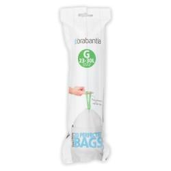 Sacs poubelle G23-30L (x20) BRABANTIA