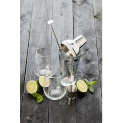 Coffret cocktail avec shaker en verre (5 pièces)