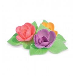 Déco Azyme: 8 mini roses