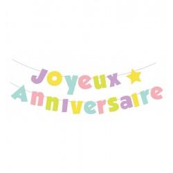 Guirlande Joyeux anniversaire de 2m