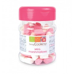 Mini-marshmallows rose/blanc (40g)