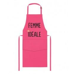 """Tablier adulte Framboise """"Femme idéale"""""""
