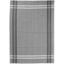 Torchon à petits carreaux Noir 50x70 WINKLER