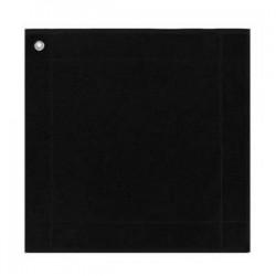 Essuie-main carré Noir 50x50