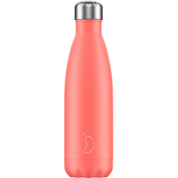 Bouteille isotherme 500ml Pastel Corail CHILLY'S