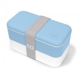 Bento rectangle MONBENTO Bleu Crystal