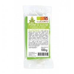 Pâte à sucre Vert prairie 100g
