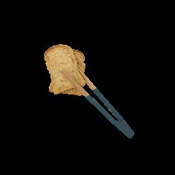 Pince à toast aimantée Bleu foncé PEBBLY