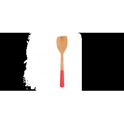 Spatule en bambou Rouge