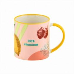 "Mug en céramique ""Vitamines"""