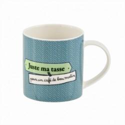 """Mug en céramique """"Just mec"""""""