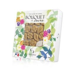 """Sucres Ambre """"Bouquet de sucre"""" Boîte fenêtre de 105g"""