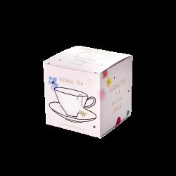 """Boîte de 5 sachets de thé LEOPARD """"Camomille Herbal"""" RICE"""