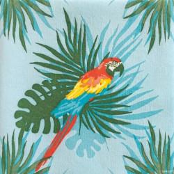 Serviettes en papier (x20) 40x40 Perroquet
