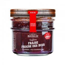 Confiture Fraise-Fraise des bois COMPTOIR DE MATHILDE