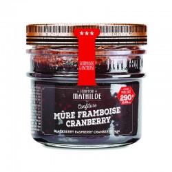 Confiture Mûre-Framboise-Cranberry COMPTOIR DE MATHILDE