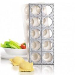 Moule à 10 raviolis carrés