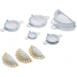 Kit de 5 moules à chaussons en plastique