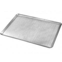 Plaque à pâtisserie 40x30 perforée en alu