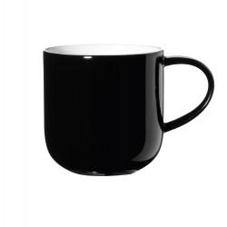 """Mug uni noir/blanc """"Coppa"""" ASA"""