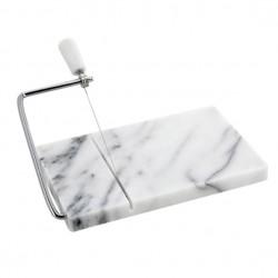 Planche à foie gras en marbre avec guillotine