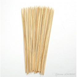 Lot de 100 brochettes en bambou de 30cm