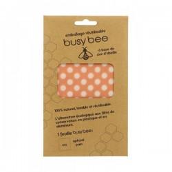 Emballage réutilisable à la cire d'abeille XXL BUSY BEE