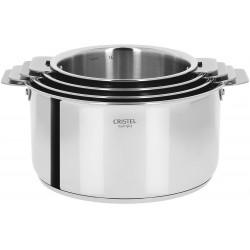 Set de 4 casseroles Casteline (14-20cm) avec 2 poignées...