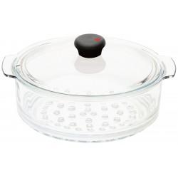 Elément vapeur en verre 24cm Cookway CRISTEL