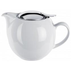 Théière en porcelaine 0,68L Blanc UNIVERSAL