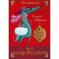 Carte Postale 10x15 «Loup Mouiton»