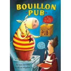 Carte Postale 10x15 «Bouillon Pub»