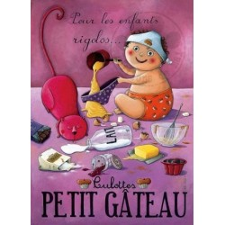 Carte Postale 10x15 «Culottes Petit Gâteau»