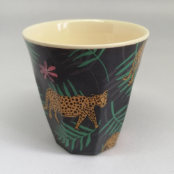 """Tasse Small en mélamine """"Simply YES"""" Leopard RICE"""