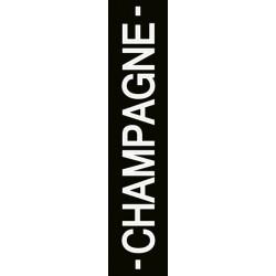 Eponge Longue pour verres CHAMPAGNE