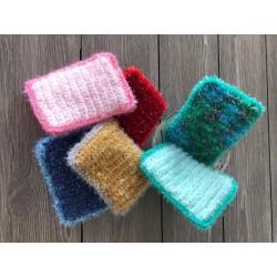 Eponge Tawashi rectangle Diff coloris