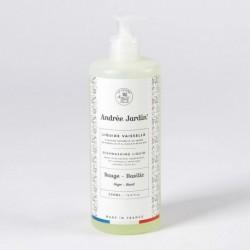 """Liquide vaisselle à l'huile d'olive Bio """"Sauge-Basilic"""""""