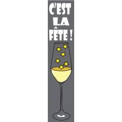 Eponge  Longue pour verres FETE