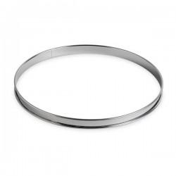 Cercle Tarte 26cm en inox