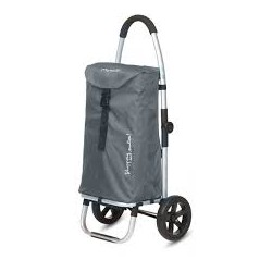 """Chariot 2 roues Gris """"Go Two"""" PLAYMARKET"""