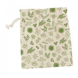 Sac à vrac en coton bio (L) Vert