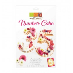 Kit Number cake (9 gabarits)