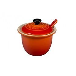 Pot à condiments en céramique Volcanique