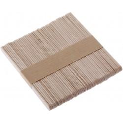 Bâtonnets x100 en bois 10cm SILIKOMART
