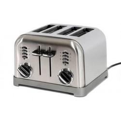 Toaster 4 tranches en acier brossé CUISINART