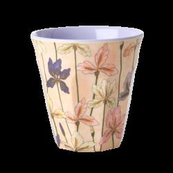 """Tasse Medium en mélamine """"Iris violettes"""" RICE"""