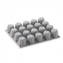 Moule en silicone 20 mini cannelés DEBUYER