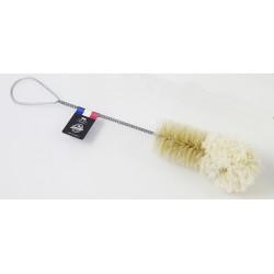 Goupillon pour flûte soie et coton