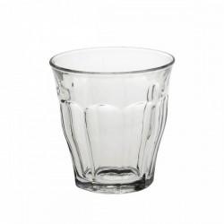 """Set de 6 verres à eau empilables en verre """"Picardie"""" 27cl"""