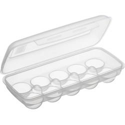 Boîte à oeufs plastique